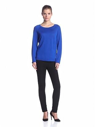 Calvin Klein Women's Combo Sweater (Celestial)