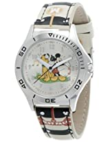 Disney Analog Multi-Color Dial Boy's Watch - SA7508MKY01
