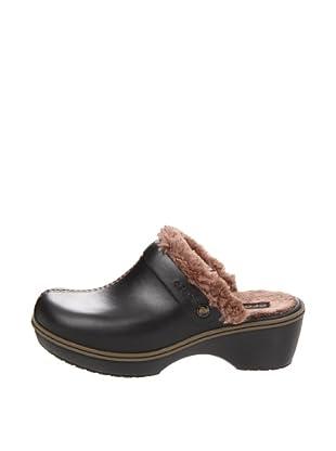 Crocs Zuecos Cobbler (Negro / Marrón)