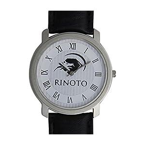 RINOTO Black Dial Analogue Watch for Unisex (RIM-POM-W9104)