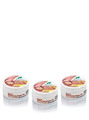 Dr.Organic Set 3 Manteca Ligera para el Cuerpo de Argán 200 Ml (u)