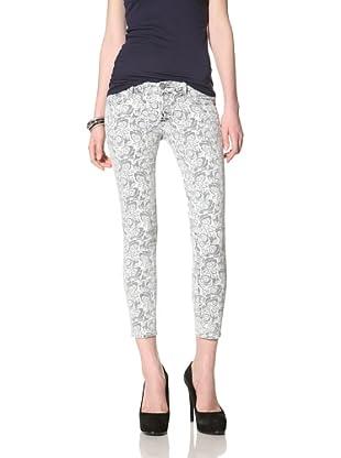 Driftwood Women's Skinny Jean (Blue Print)
