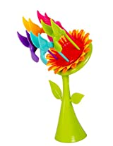 Colourful Sunflower Fruit Fork Set