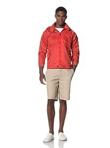 Repo Brand Men's Windbreaker (Red)