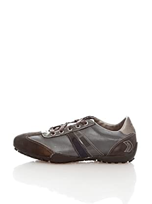 Geox Donna Snake D0112B04322C9999 - Zapatillas para mujer (Gris)