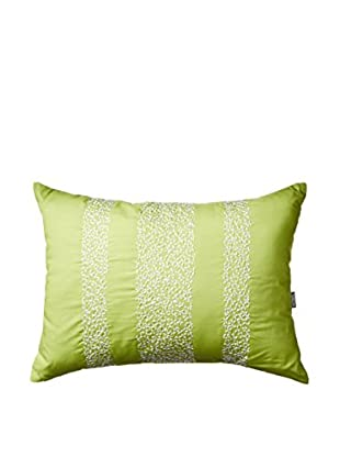 Kas Camilla Embroidered Pillow, Green