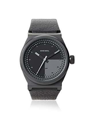 Diesel Men's DZ1560 Black Stainless Steel/Leather Watch