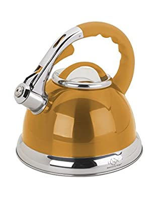 Lenox 2.5-Qt. Gold Stainless Steel Whistling Tea Kettle