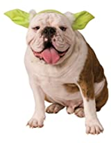 Star Wars Classic Yoda Dog Headpiece, Small/Medium