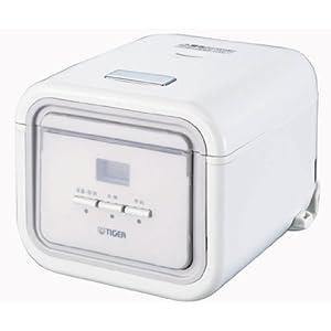 TIGER マイコン炊飯ジャー <炊きたてミニ> (3合炊き) シンプルホワイト JAJ-A550-WS