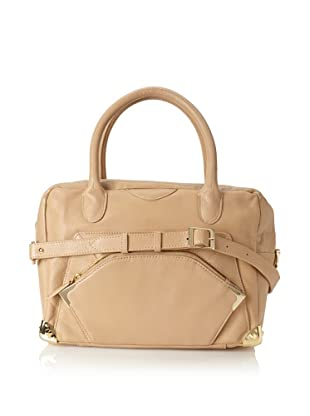 Be&D Women's Beatrice Large Satchel (Taupe)