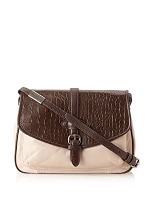 Foley + Corinna Women's Petra Cross-Body (Bittercroc/Shell Combo)