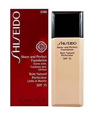 SHISEIDO Flüssige Foundation Sheer and Perfect 060 15 SPF 30 ml, Preis/100 ml: 96.63 EUR