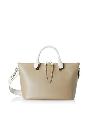 Chloé Women's Baylee Leather Tote Bag, Grey