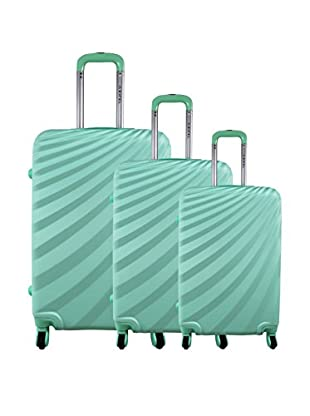 zifel Set de 3 trolleys rígidos A18C