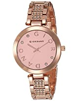 Giordano Analog Rose Gold Dial Women's Watch - A2040-22