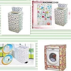 Fanto Printed Washing Machine Cover (Front Load)