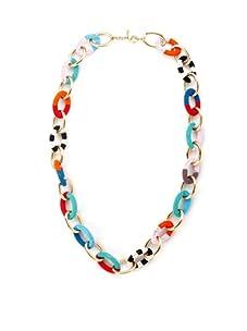 nOir Multicolor Long Chain Necklace