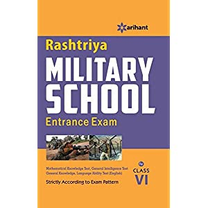 Rashtriya Military School Entrance Exam for Class VI