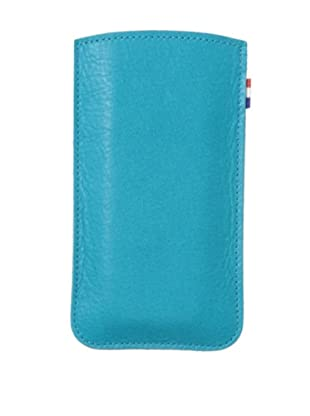 Decoded Bags Men's iPhone 5/5S Leather Pouch, Turquoise, One Size