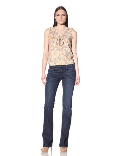 Earnest Sewn Women's Hefner Mid-Rise Boot Cut Jean (Madison)