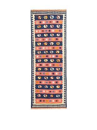 NAVAEI & CO Teppich mehrfarbig 293 x 107 cm