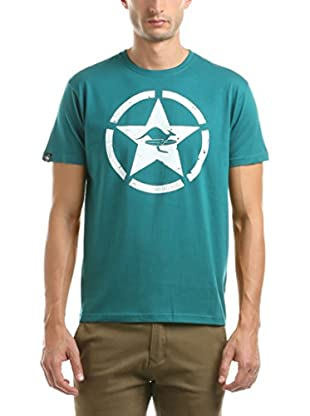 Hot Buttered Camiseta Manga Corta Circle Star