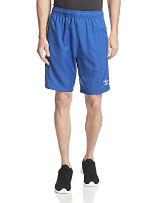 Umbro Men's Aztec Stripe Soccer Short (Brasil Royal)