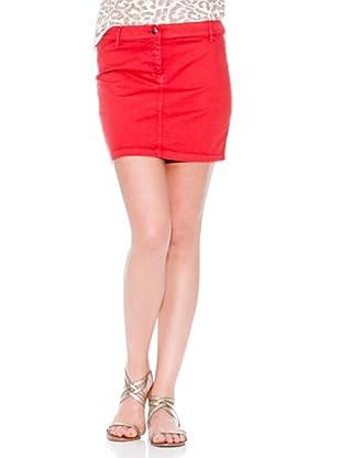 Mango Falda Flacotin (Rojo)