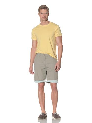 Tailor Vintage Men's Reversible Short (Khaki/Gingham)