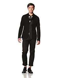 Pringle of Scotland Men's Jersey Jacket (Black)