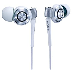 SONY 密閉型インナーヘッドフォン EX500SL ホワイト MDR-EX500SL/W
