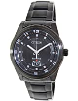Citizen Eco-Drive Analog Black Dial Men's Watch - AW1284-51E