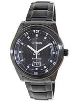 Citizen Eco-Drive Analog Black Dial Men's Watch - AW1284-51E