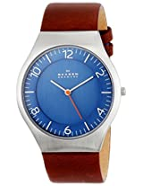 Skagen End-of-Season Grenen Analog Blue Dial Men's Watch-SKW6112