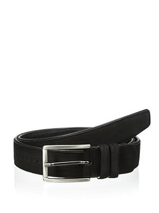 Mezlan Men's Suede Belt (Black)