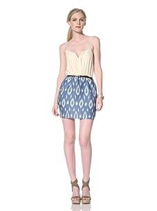 Dolce Vita Women's Ana Maria Tank Dress (Blue/White)