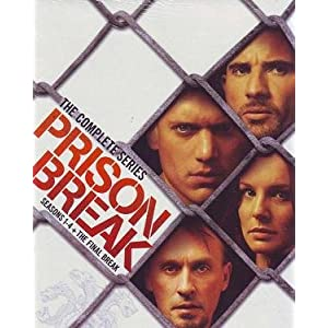 Prison Break - Complete Series Boxset (TV Show, DVD)