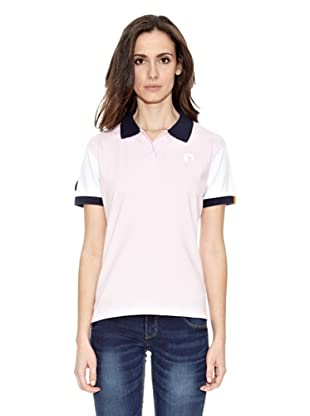 Toro Polo Logo Small (Rosa / Blanco)