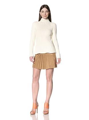 Derek Lam Women's Mockneck Sweater (Ivory)