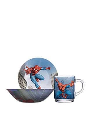 Set 3 Piezas Modelo Spiderman Street Fights