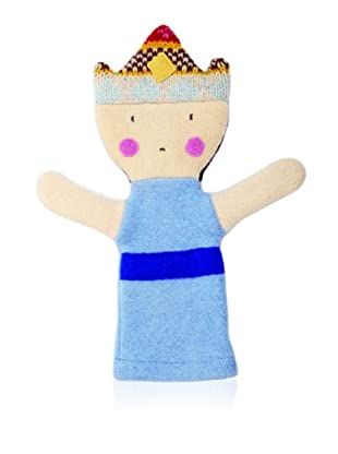 Cate and Levi Unisex Princess People Puppet , Blue/Dark Blue