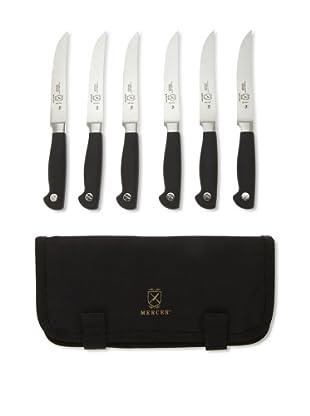 Mercer Cutlery Genesis 7-Piece Forged Steak Knife Set