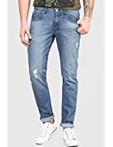 Blue Slim Fit Jeans Phosphorus