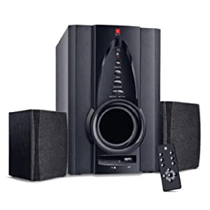 iBall Tarang 2.1 USB with Remote Full Wood Speaker
