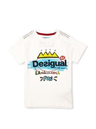 Desigual Camiseta Pensilvania (Blanco)