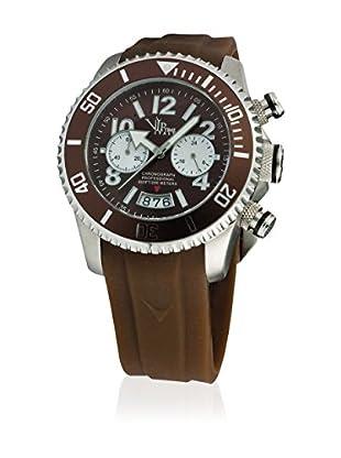 Vip Time Italy Uhr mit Japanischem Quarzuhrwerk VP8028BR_BR braun 43.00  mm