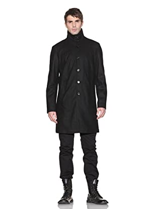 John Varvatos Men's Wool-Blend Coat