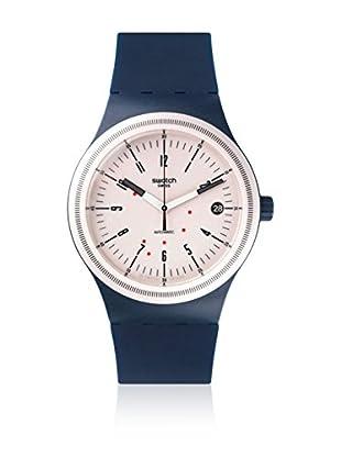 Swatch Reloj automático Unisex Sistem Navy  42 mm