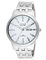 OMAX STAINLESS STEEL WHITE DIAL WATCH FOR MEN (MONTRES OMAX S.A. - A SWISS WATCH COMPANY) ... ...